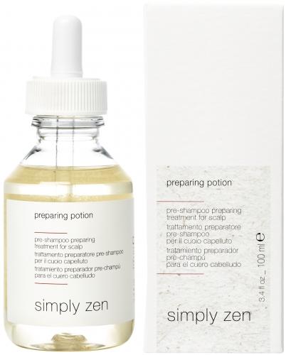 simply zen preparing potion