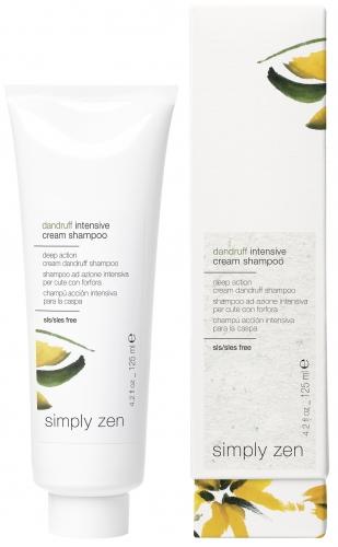 Z-oneconcept Dandruff Intensive Cream Shampoo | Cortex Ltd Hair Products Distributors Malta