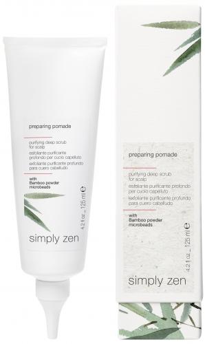Preparing Pomade Z-oneconcept Simply Zen