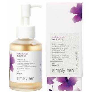 Z-oneconcept Restructure In Sublime Oil | Cortex Ltd Hair Products Distributors Malta