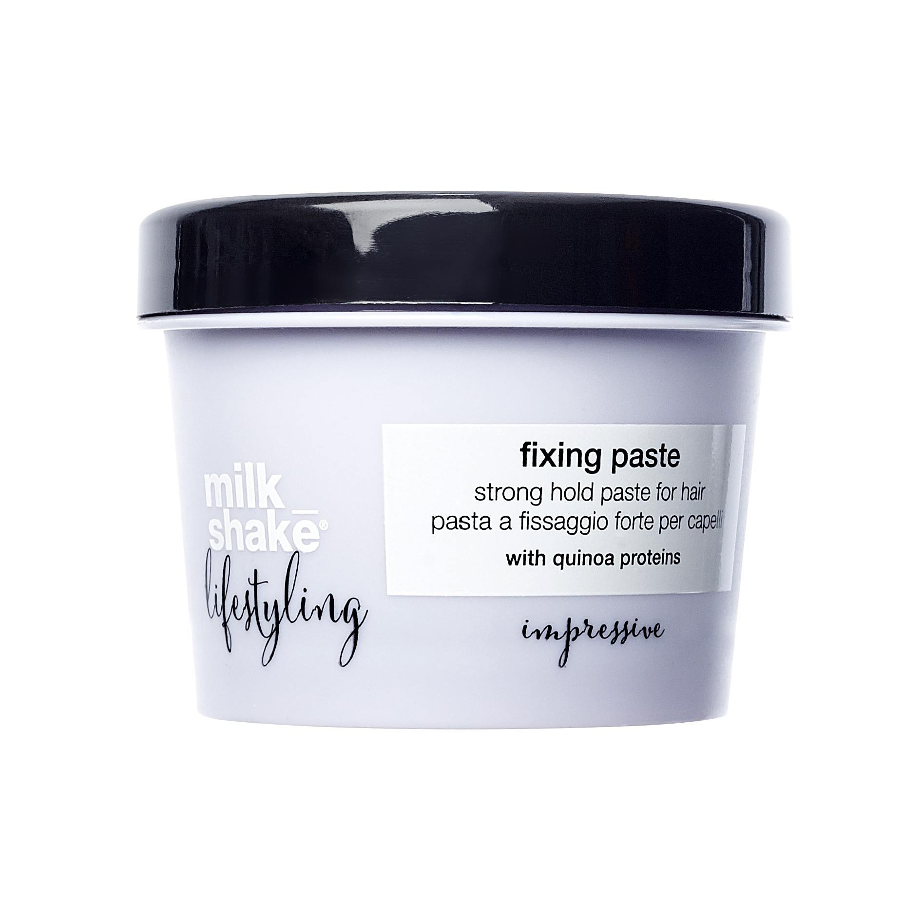 paste strong hold hair