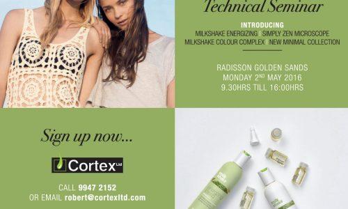 cortex hair seminar education